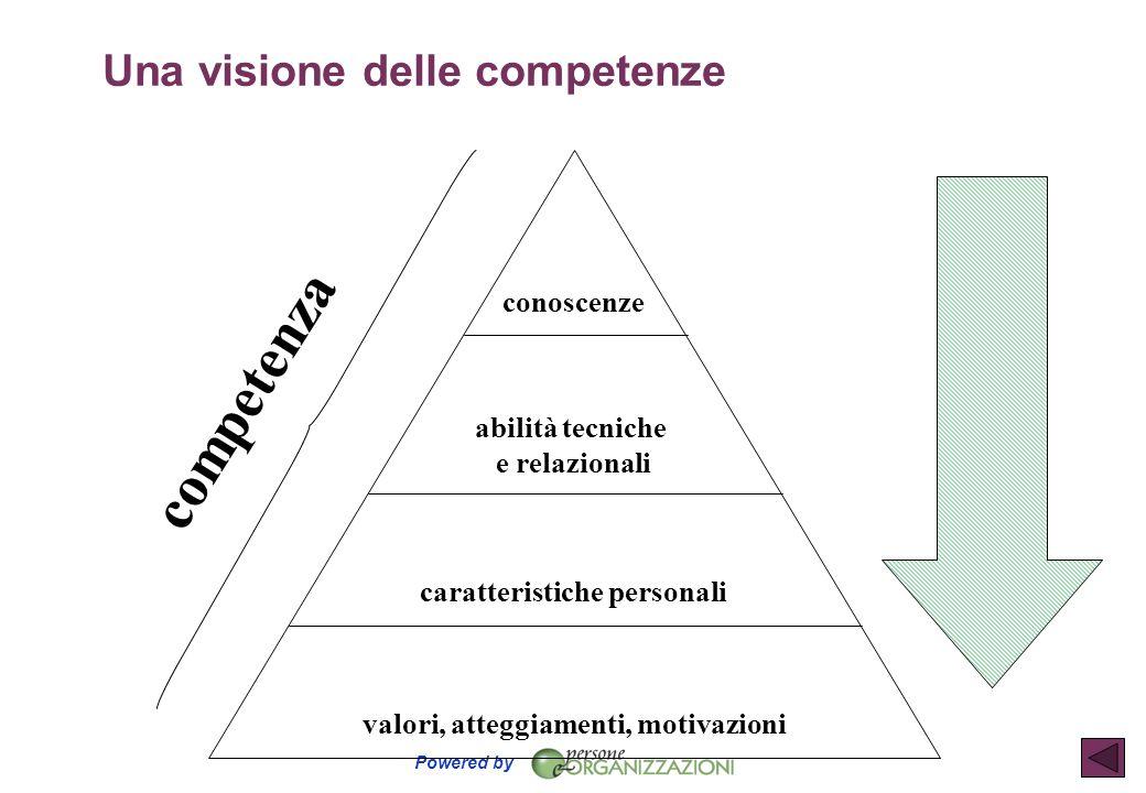 Una visione delle competenze