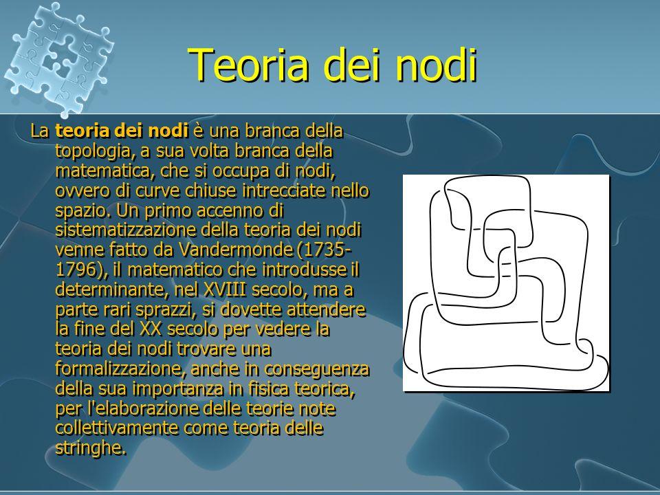 Teoria dei nodi