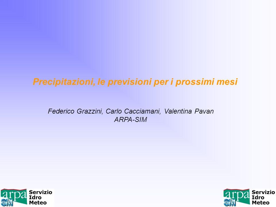 Federico Grazzini, Carlo Cacciamani, Valentina Pavan