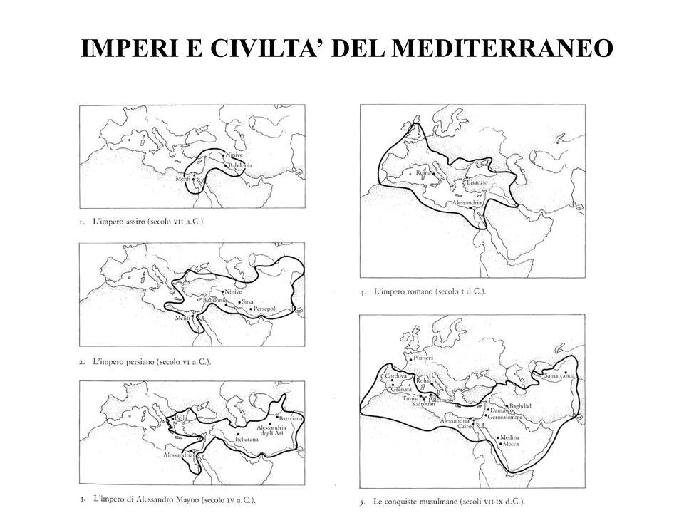 IMPERI E CIVILTA' DEL MEDITERRANEO