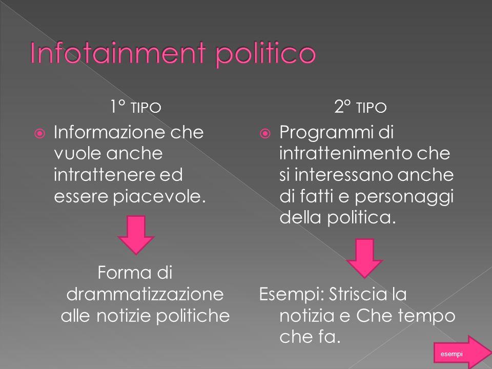 Infotainment politico