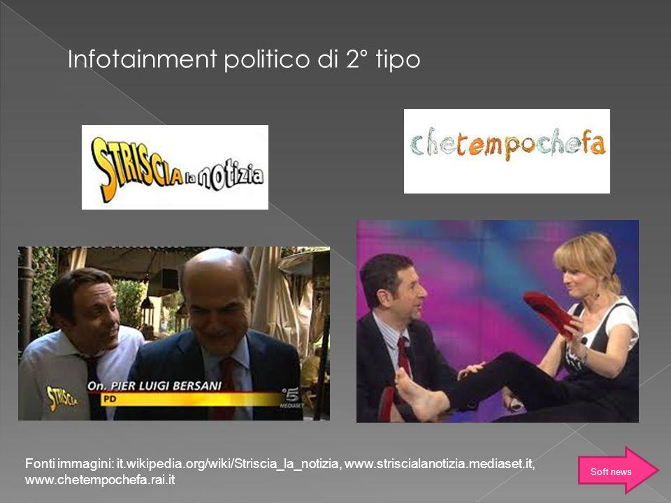 Infotainment politico di 2° tipo