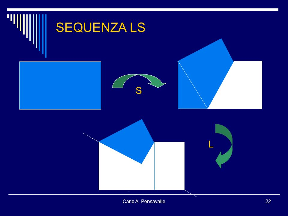 SEQUENZA LS S L Carlo A. Pensavalle