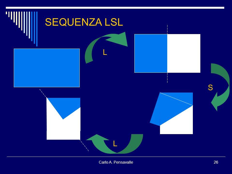 SEQUENZA LSL L S L Carlo A. Pensavalle