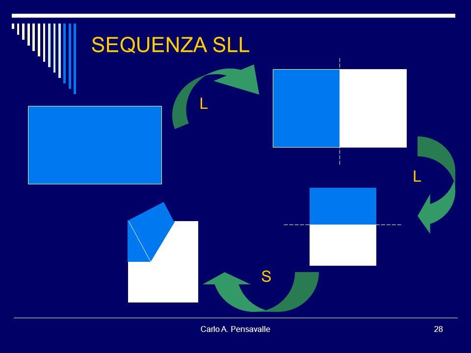 SEQUENZA SLL L L S Carlo A. Pensavalle