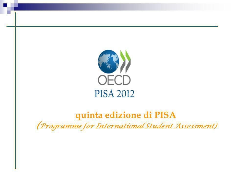 quinta edizione di PISA