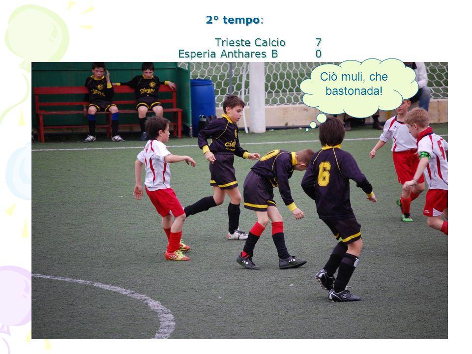 2° tempo: Trieste Calcio 7 Esperia Anthares B 0