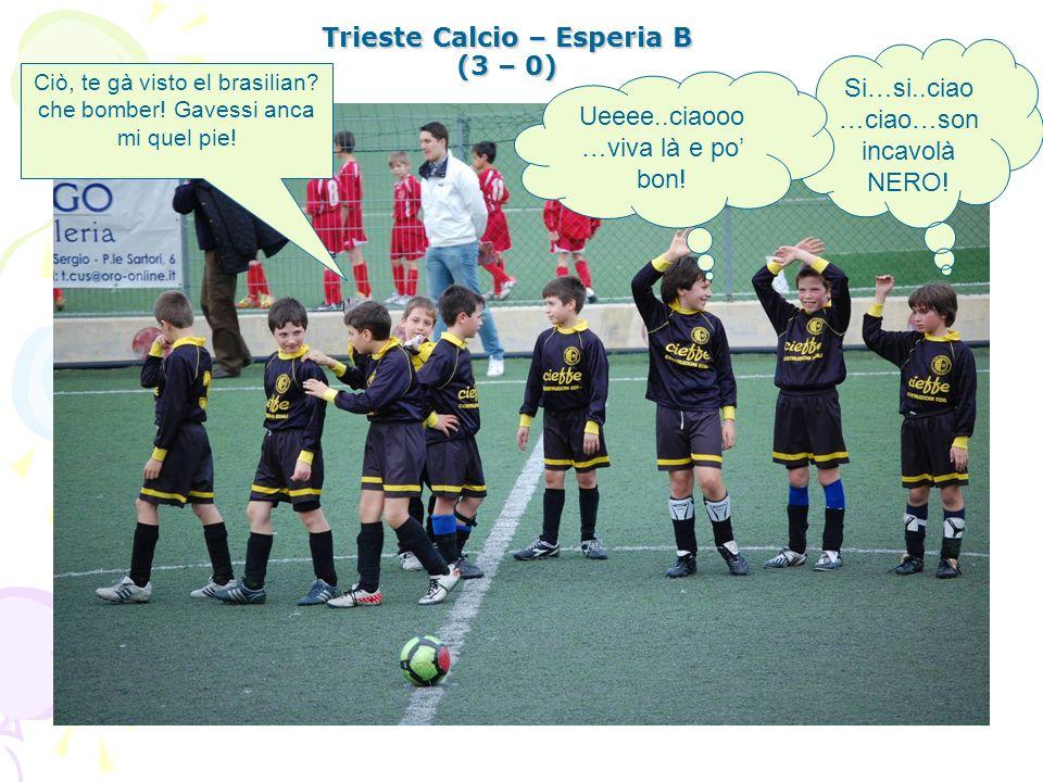 Trieste Calcio – Esperia B (3 – 0)