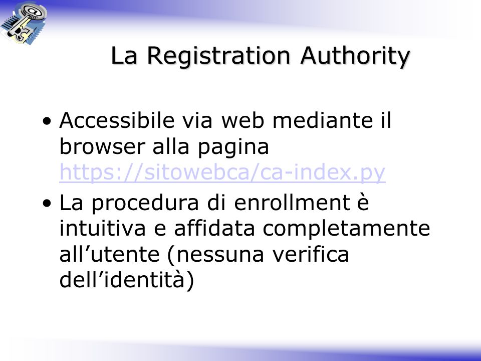 La Registration Authority