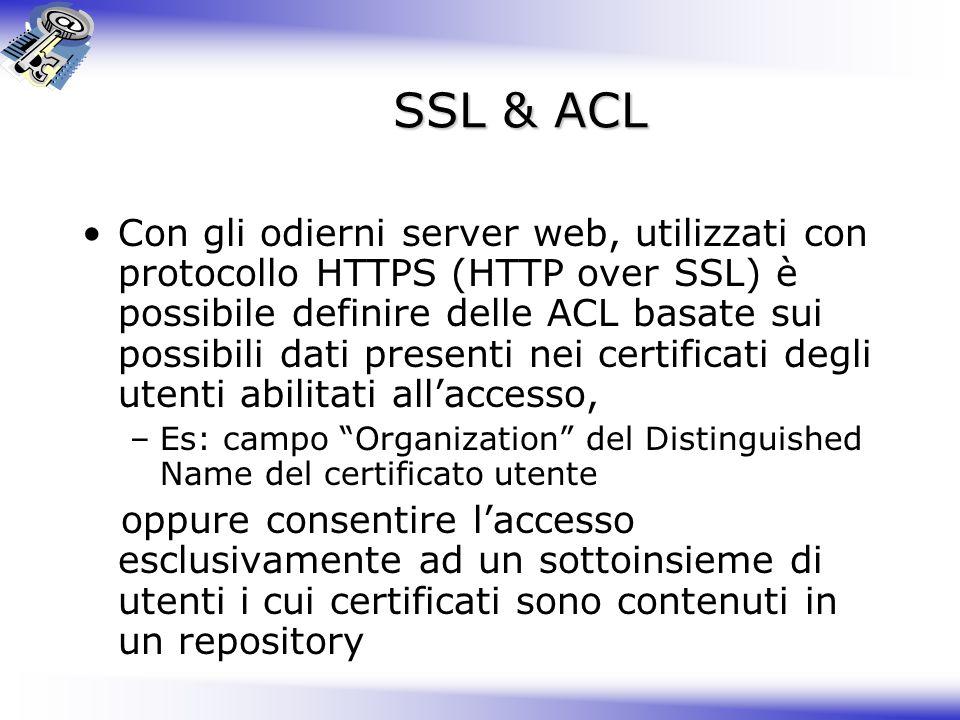 SSL & ACL