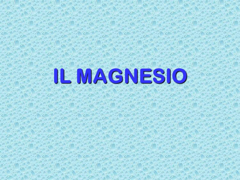 IL MAGNESIO