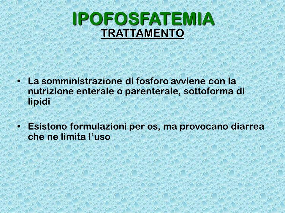 IPOFOSFATEMIA TRATTAMENTO