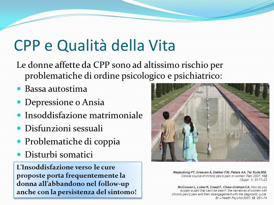 CPP e Qualità della Vita