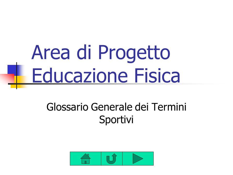 Area di Progetto Educazione Fisica