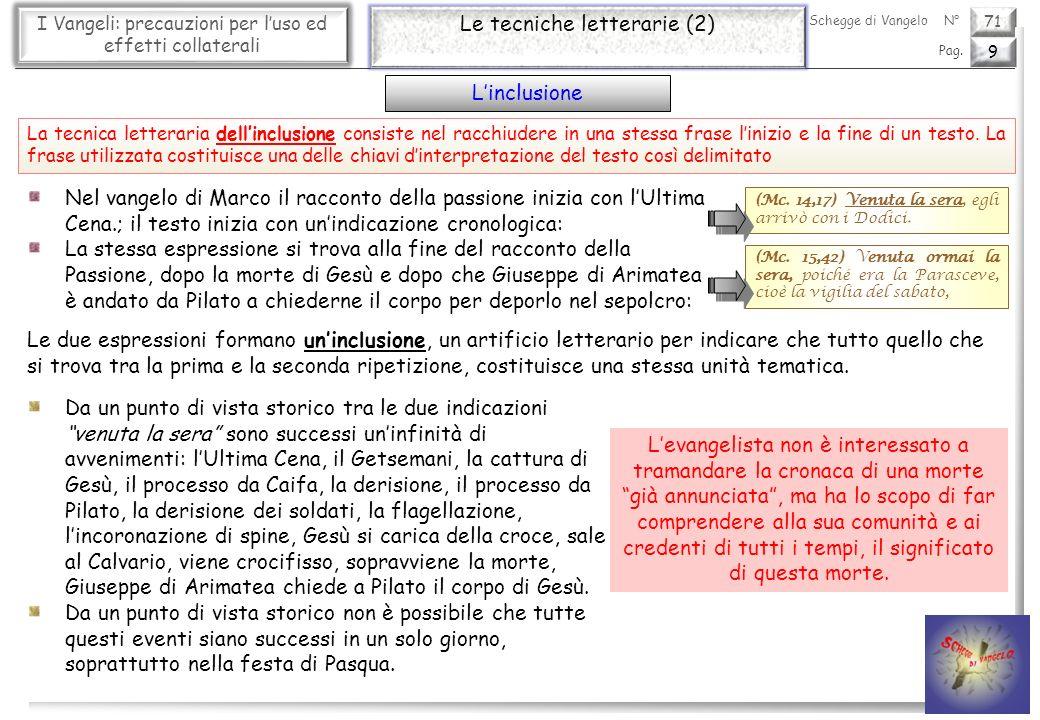 Le tecniche letterarie (2)