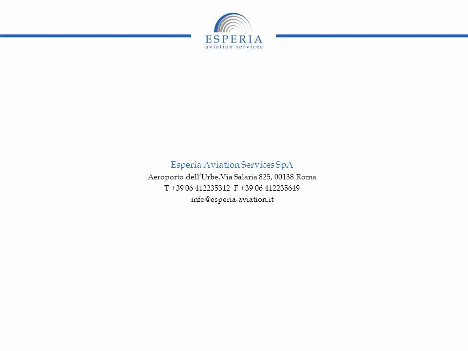 Esperia Aviation Services SpA