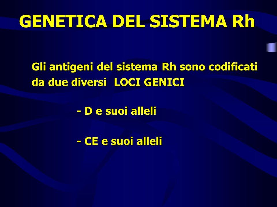 GENETICA DEL SISTEMA Rh