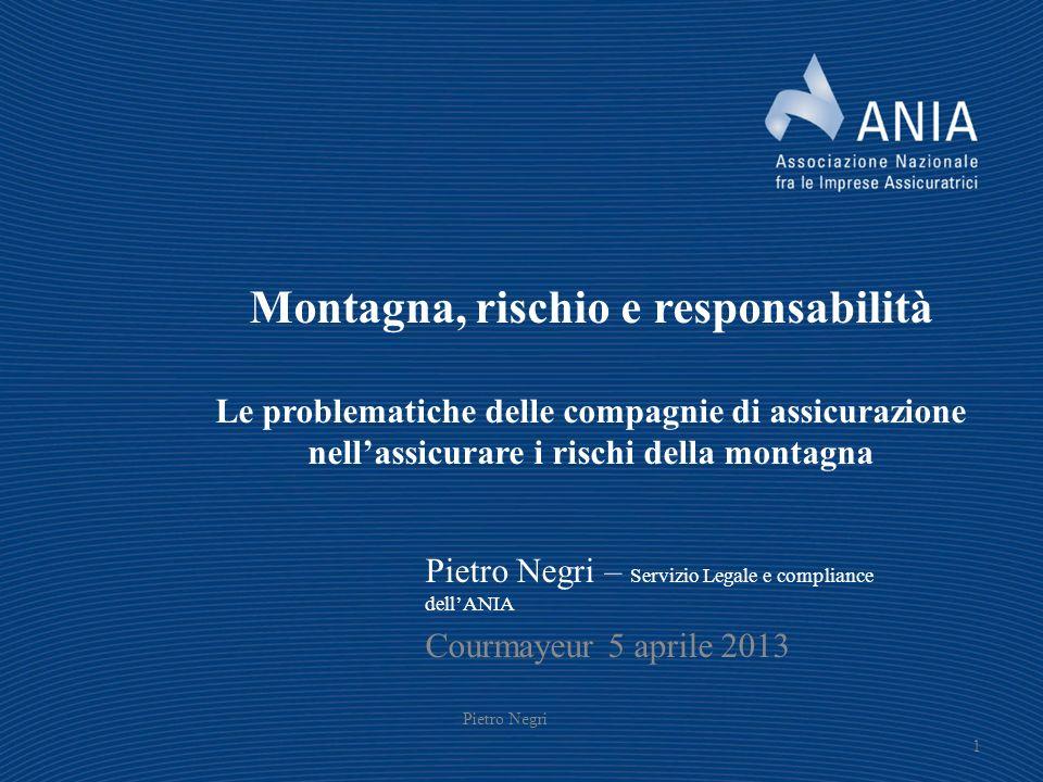 fsdfsfsfsfs Montagna, rischio e responsabilità Le problematiche delle compagnie di assicurazione nell'assicurare i rischi della montagna.