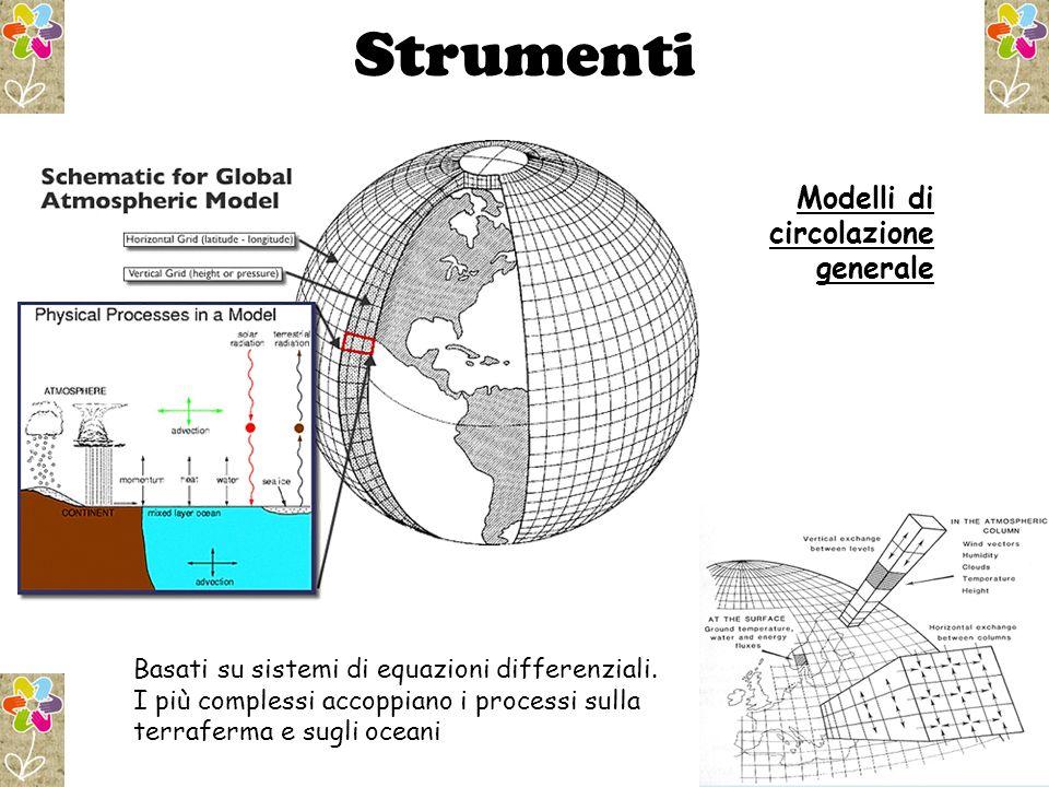 Strumenti Modelli di circolazione generale
