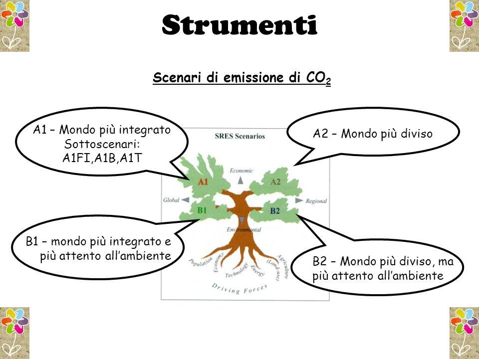 Scenari di emissione di CO2