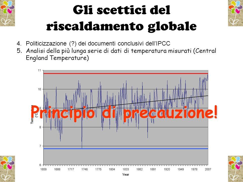 Gli scettici del riscaldamento globale
