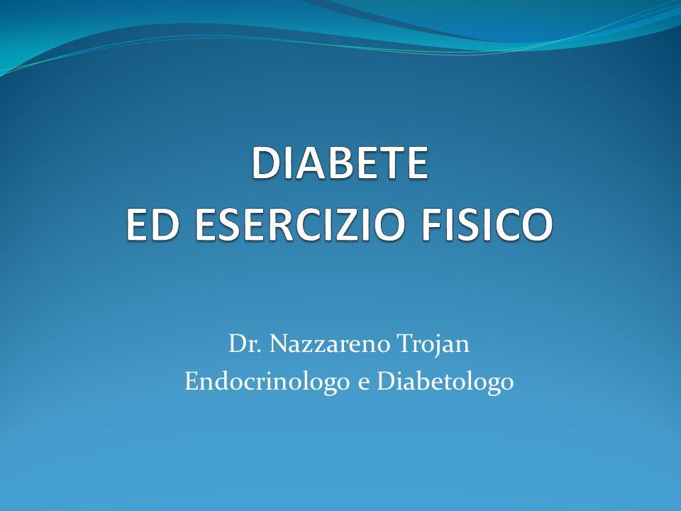 DIABETE ED ESERCIZIO FISICO
