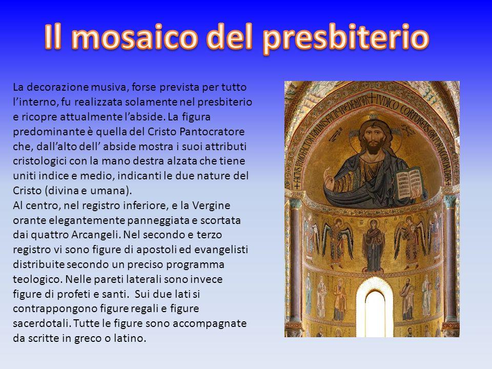 Il mosaico del presbiterio