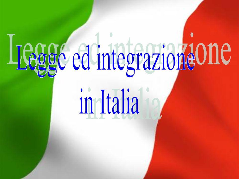 Legge ed integrazione in Italia
