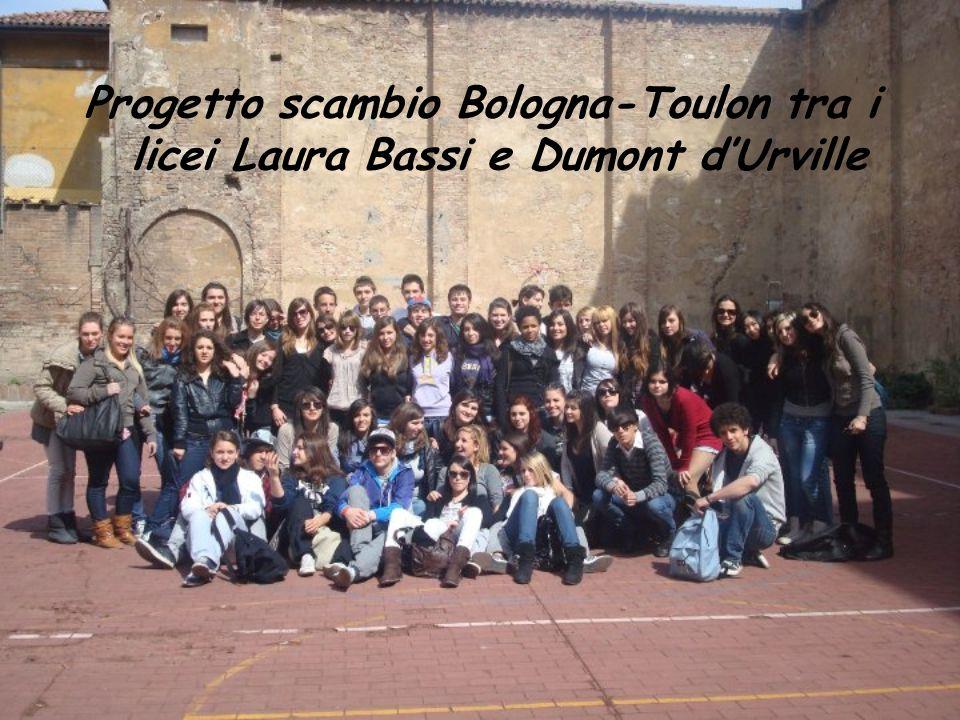 Progetto scambio Bologna-Toulon tra i licei Laura Bassi e Dumont d'Urville