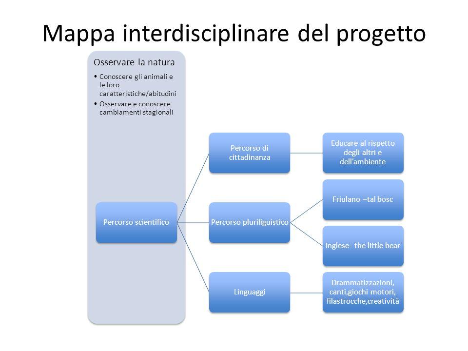 Mappa interdisciplinare del progetto