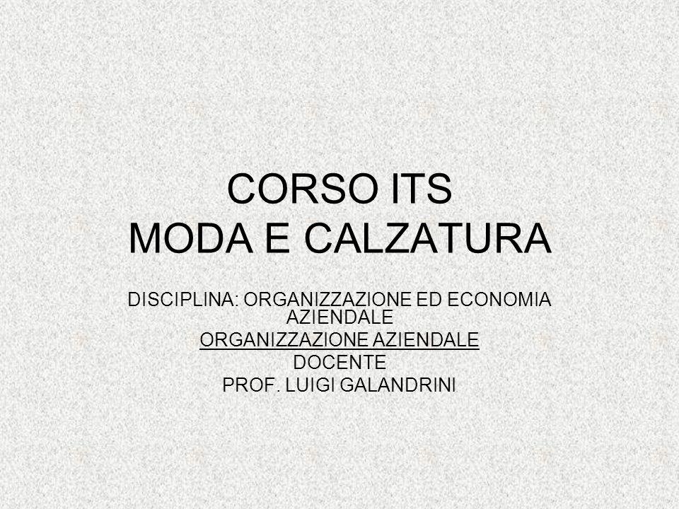 CORSO ITS MODA E CALZATURA