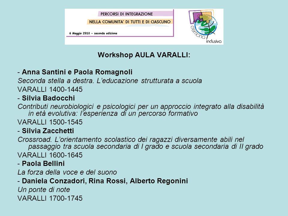 Workshop AULA VARALLI: