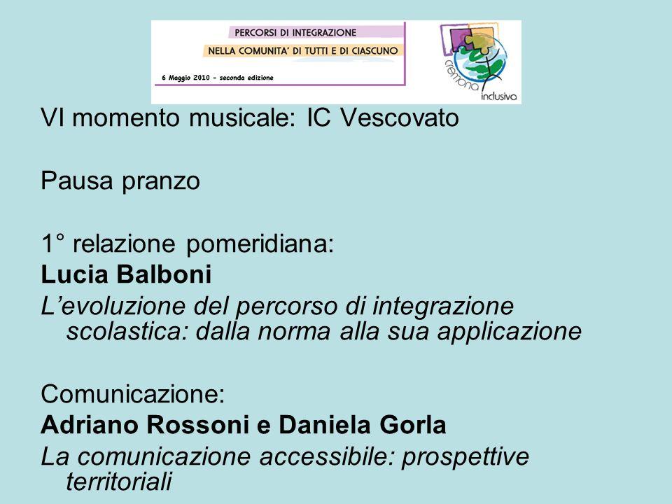 VI momento musicale: IC Vescovato