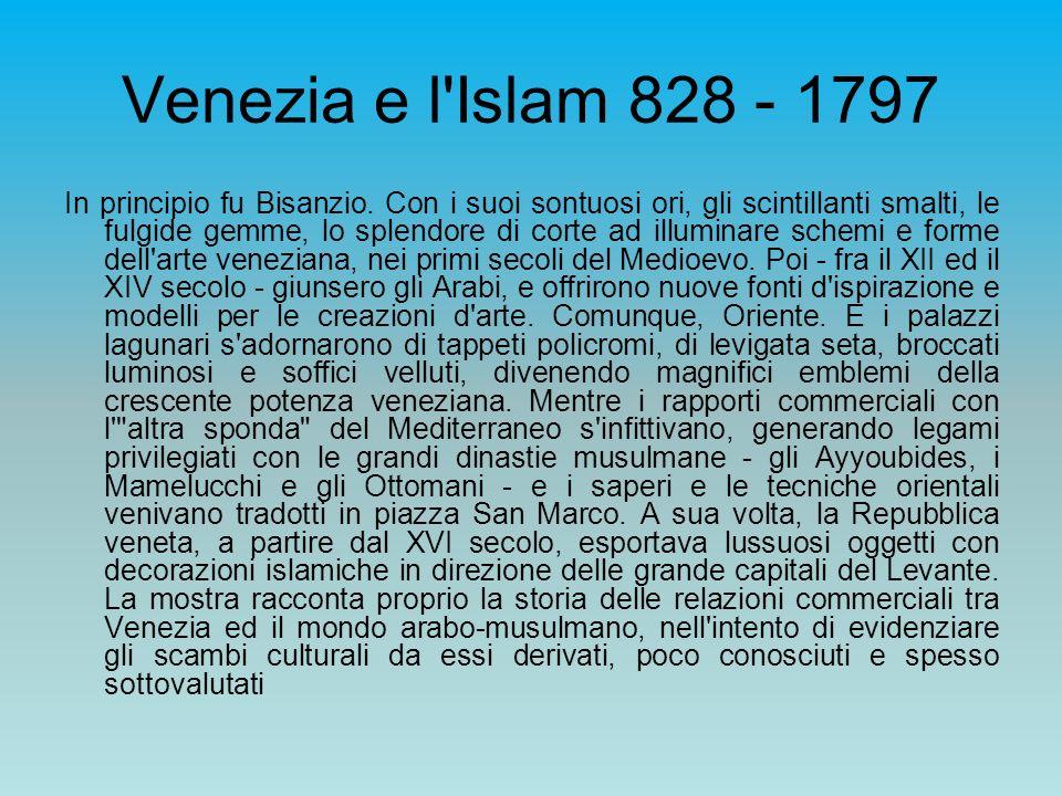 Venezia e l Islam 828 - 1797