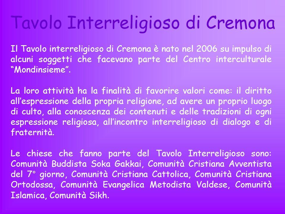 Tavolo Interreligioso di Cremona