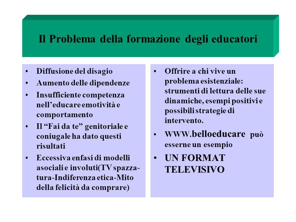 Il Problema della formazione degli educatori