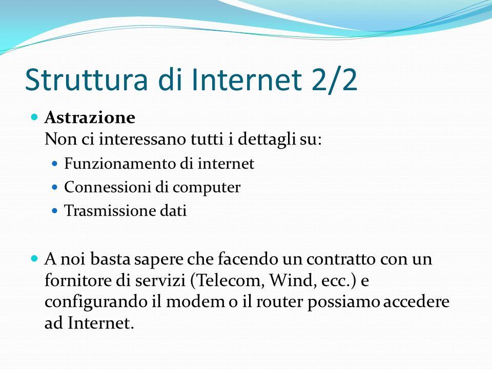 Struttura di Internet 2/2