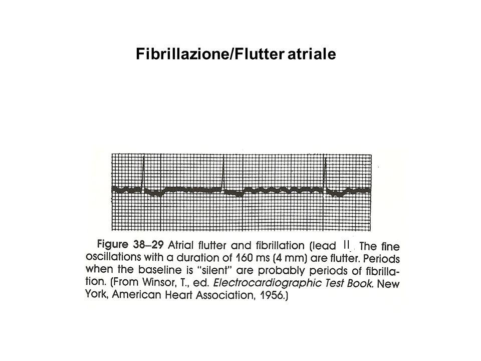 Fibrillazione/Flutter atriale
