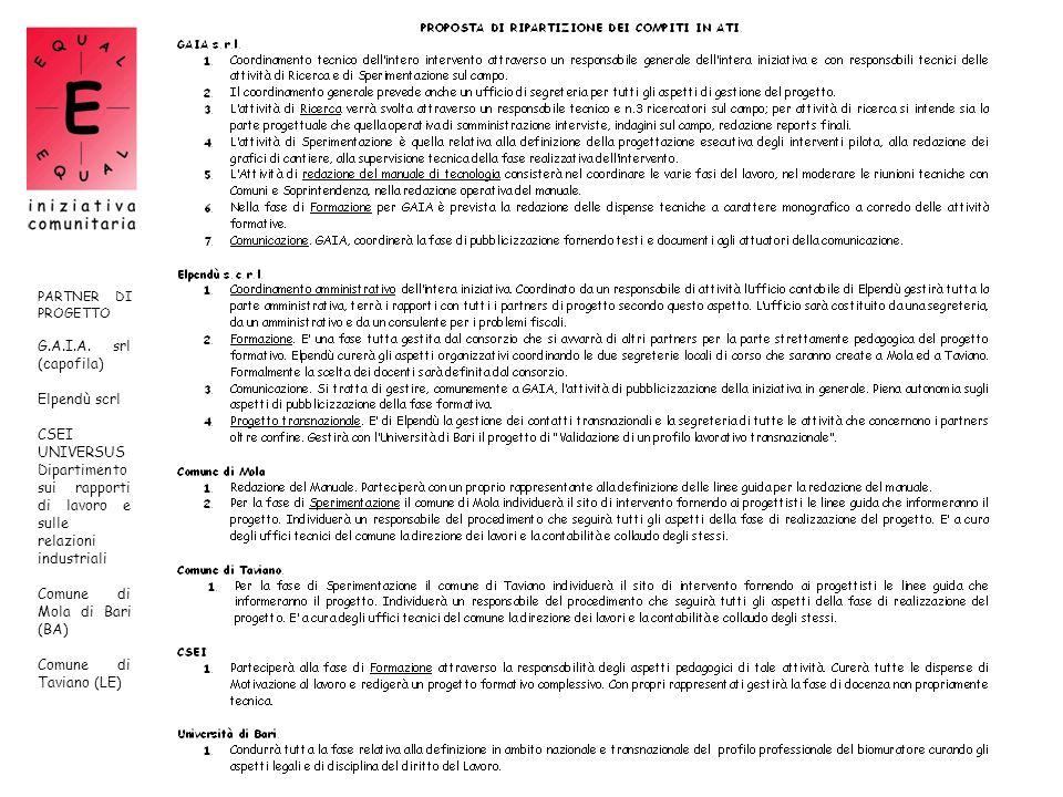 Dipartimento sui rapporti di lavoro e sulle relazioni industriali