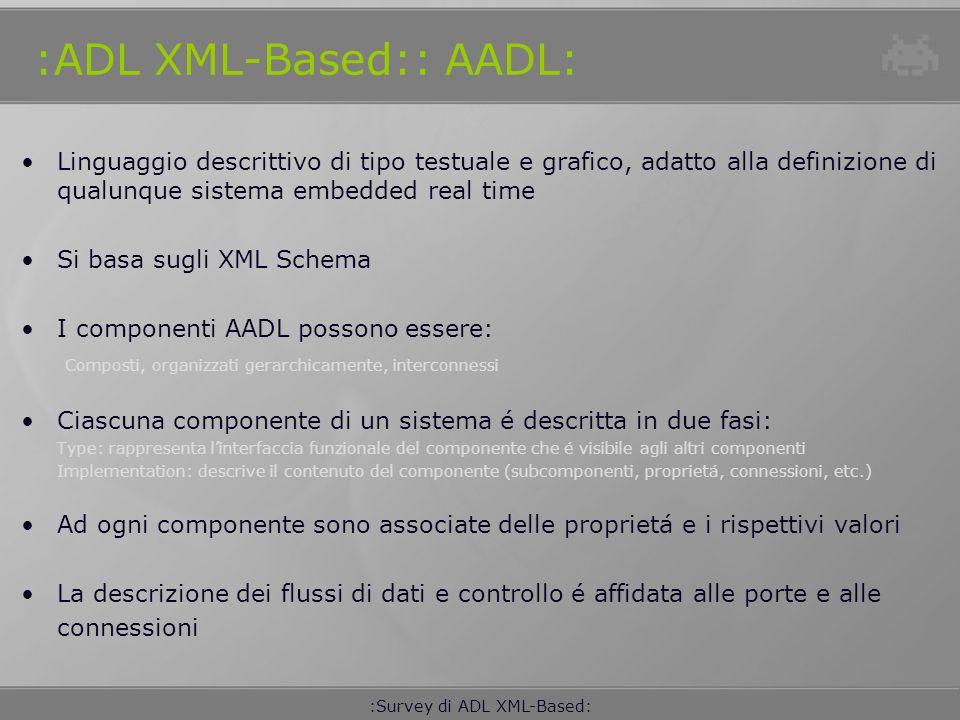 :ADL XML-Based:: AADL: