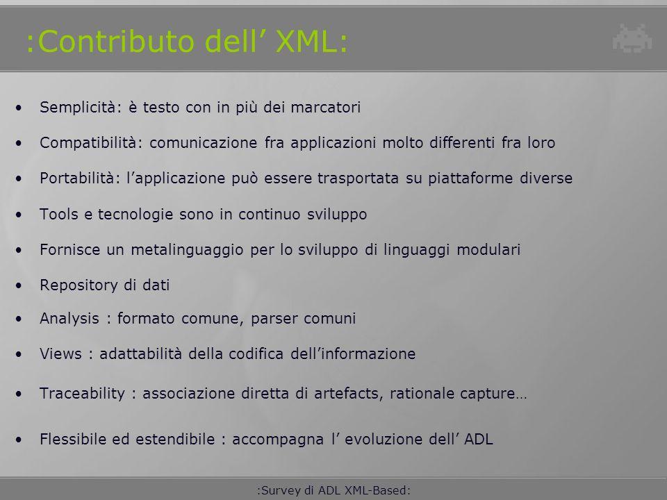 :Contributo dell' XML: