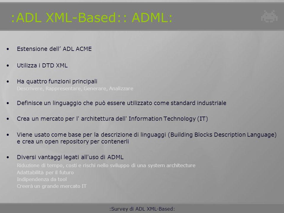 :ADL XML-Based:: ADML:
