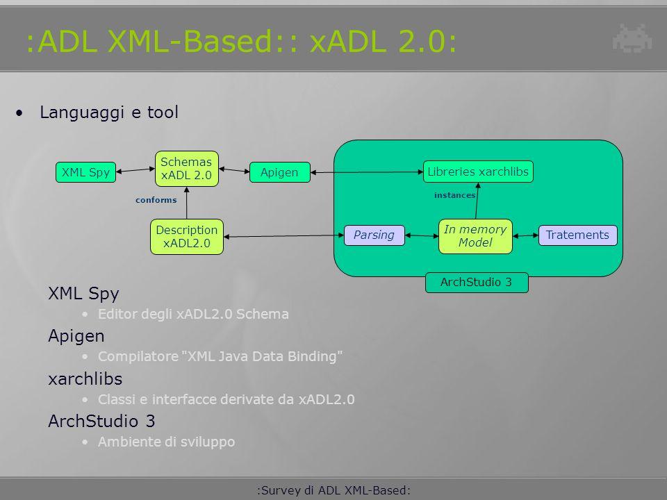 :ADL XML-Based:: xADL 2.0: