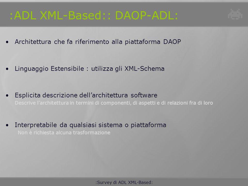 :ADL XML-Based:: DAOP-ADL: