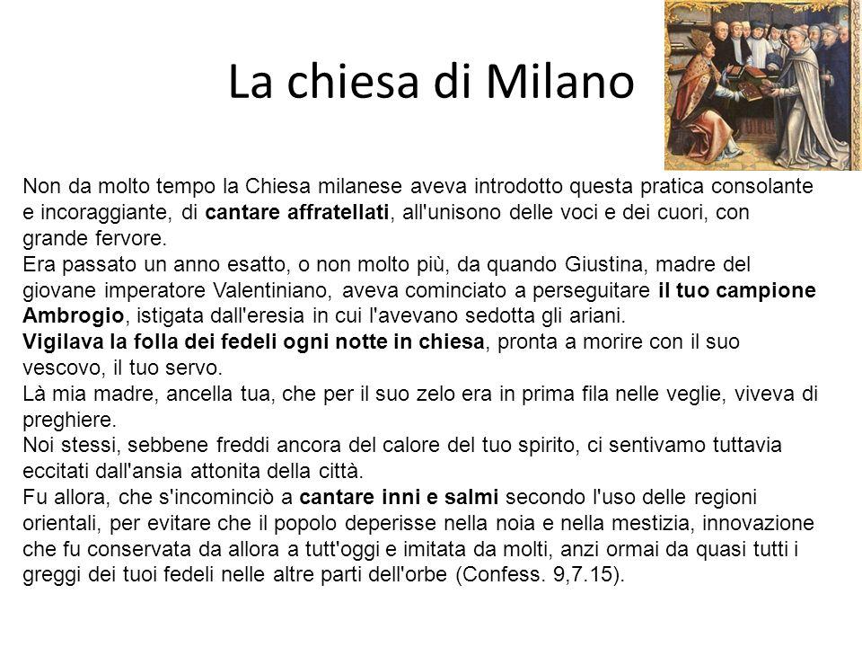 La chiesa di Milano