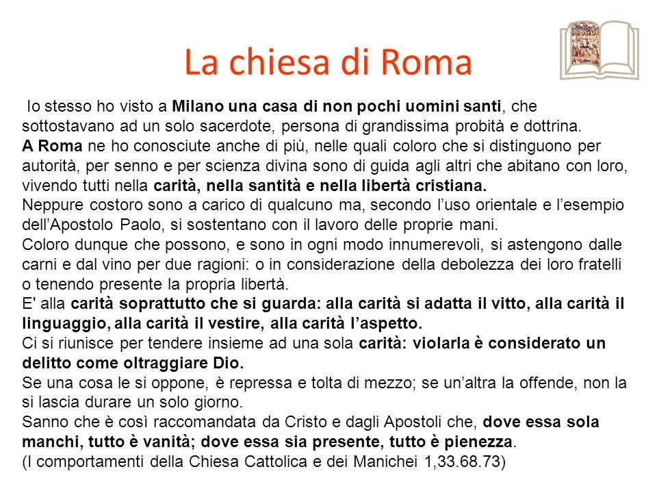 La chiesa di Roma