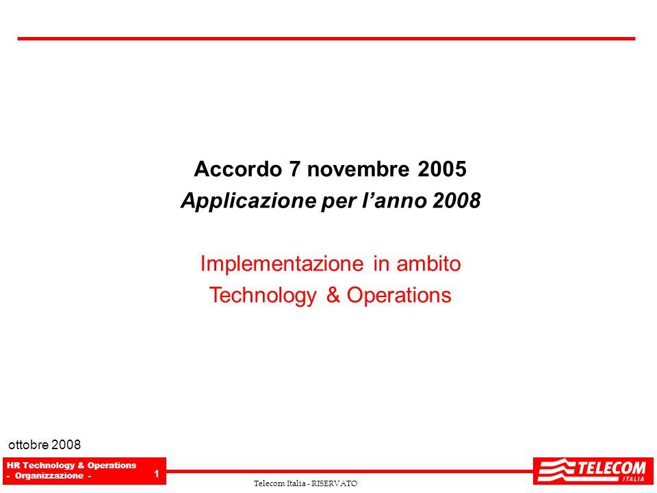 Applicazione per l'anno 2008