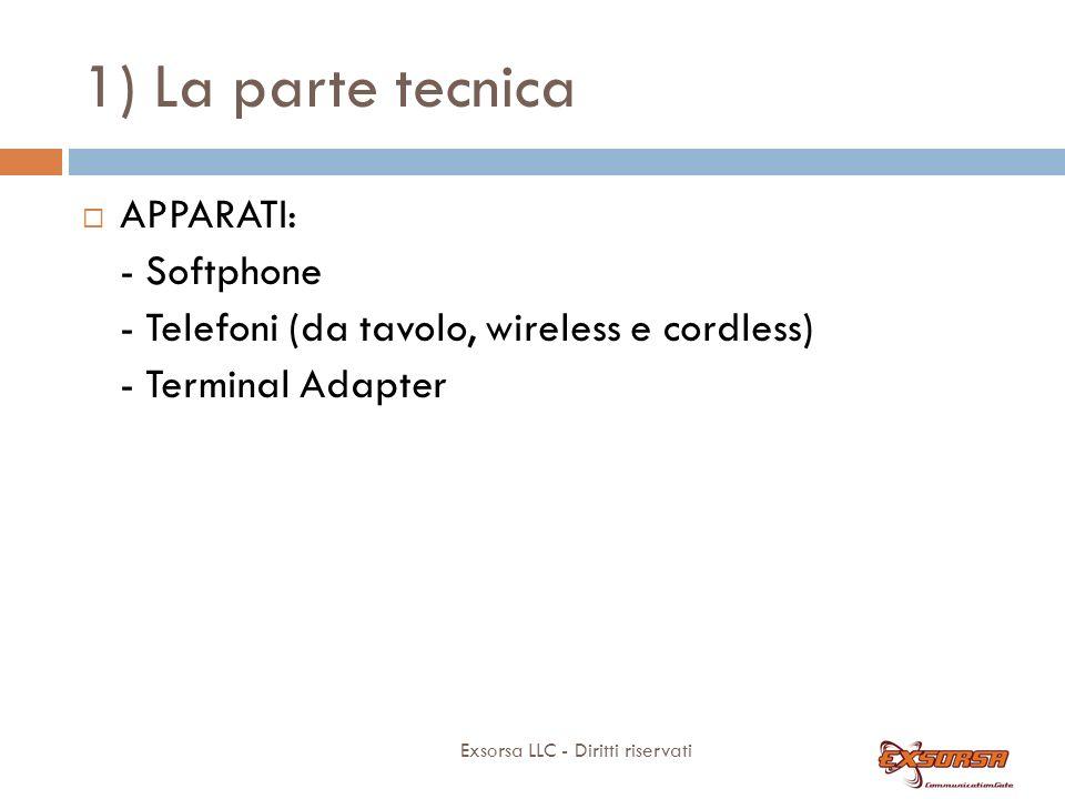 1) La parte tecnica Porte ISDN: