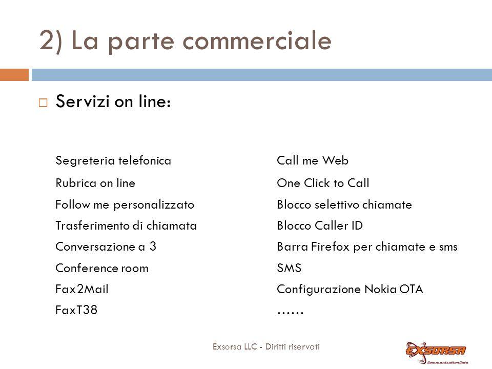 2) La parte commerciale Number portability: