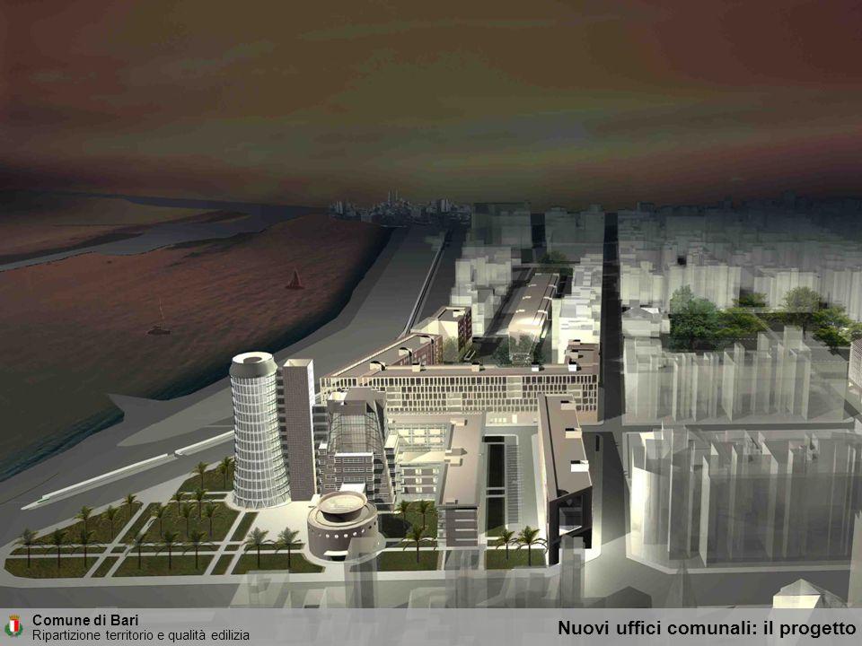 Nuovi uffici comunali: il progetto